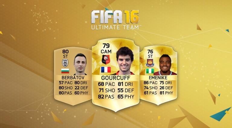 FIFA 16 - FUT : De nouveaux joueurs enrichissent le mode