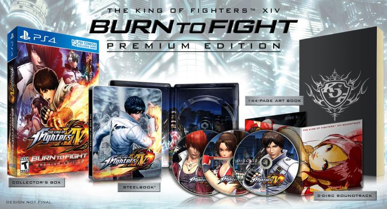 The King of Fighters XIV : présentation de l'édition collector américaine