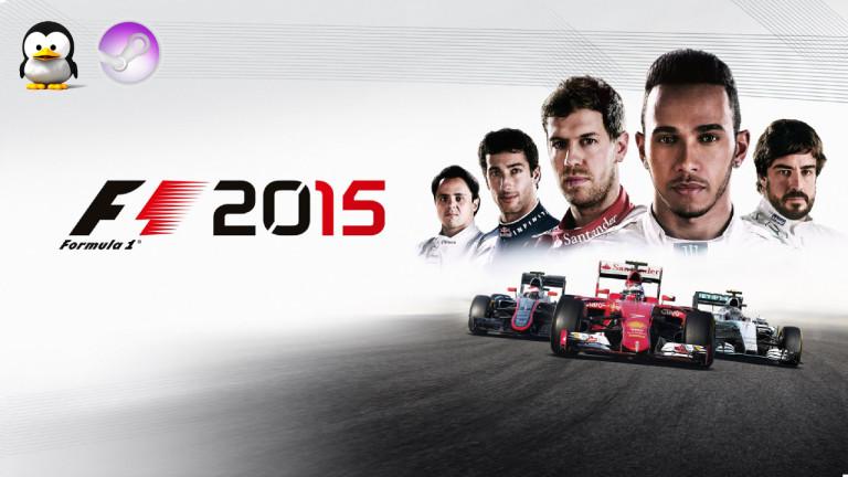 F1 2015 marque l'arrêt au stand Linux