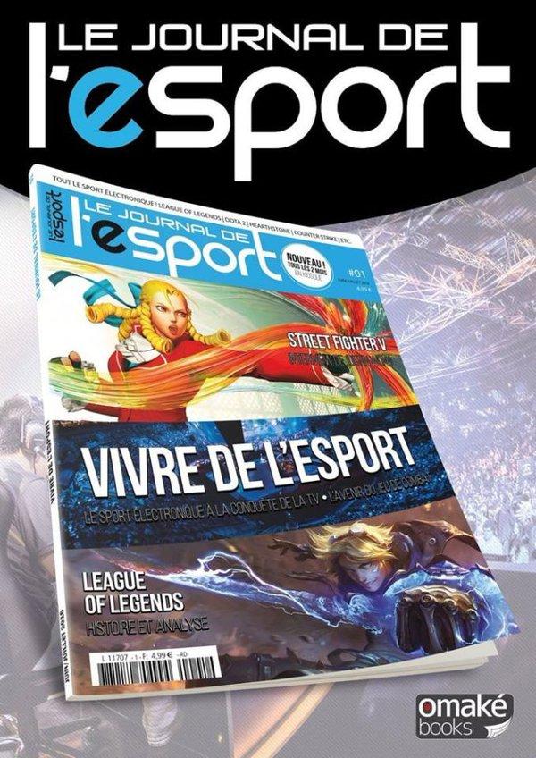 Le Journal de l'esport maintenant disponible dans les kiosques !