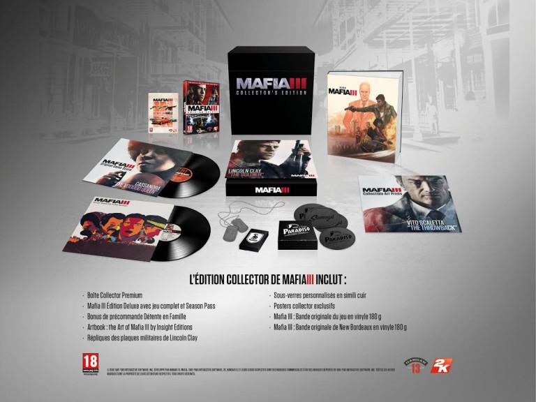 Mafia 3 : tous les détails de l'édition collector