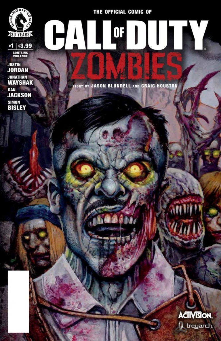 Une nouvelle série de comic books dédiée au mode Zombies de Call of Duty