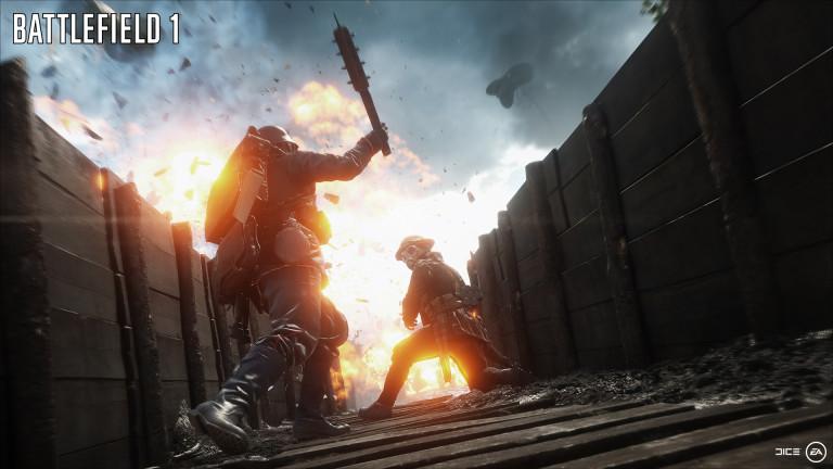 Un nouveau trailer pour Battlefield 1 à la gamescom 2016