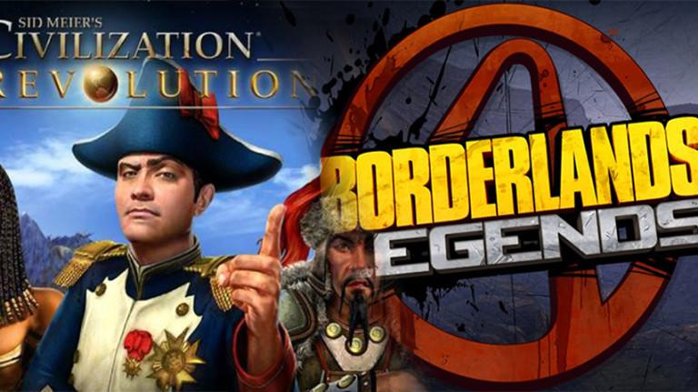 Borderlands Legends et Civilization Revolution retirés de l'App Store