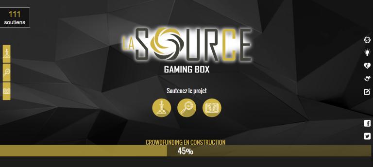 la source, source, gaming, box, gaming box