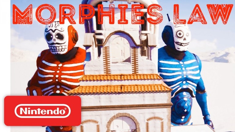 Morphies Law, un shooter qui déforme, sur Nintendo Switch et PC