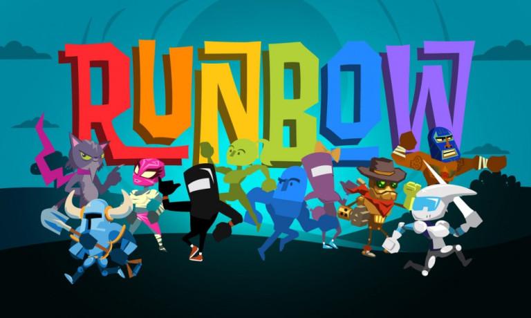 Runbow, des chutes par centaines !