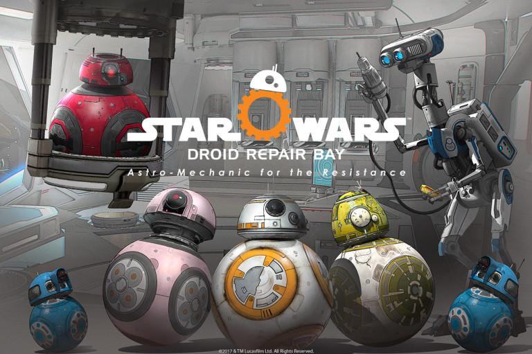 Star Wars Droid Repair Bay, vous ne viendrez plus chez nous par hasard