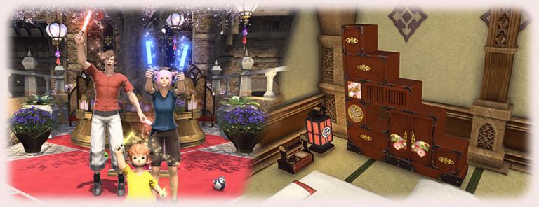 Final Fantasy XIV : La Fête des Demoiselles fait son grand retour