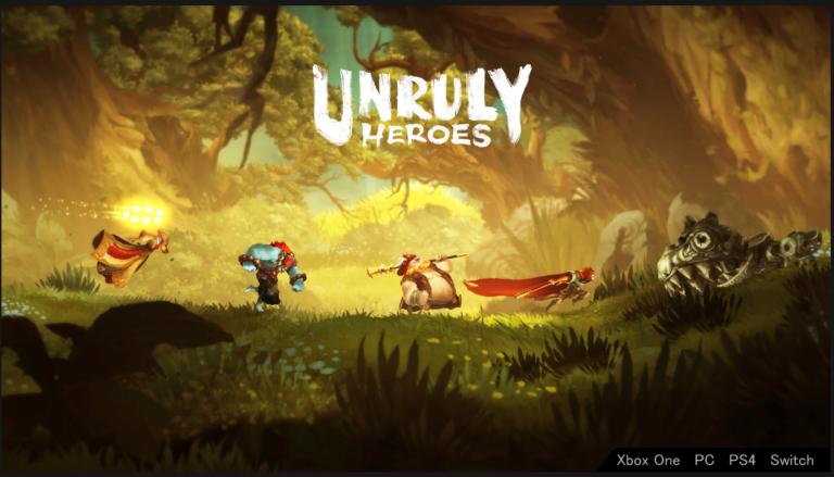 Unruly Heroes, le platformer français, se dote d'une page Steam