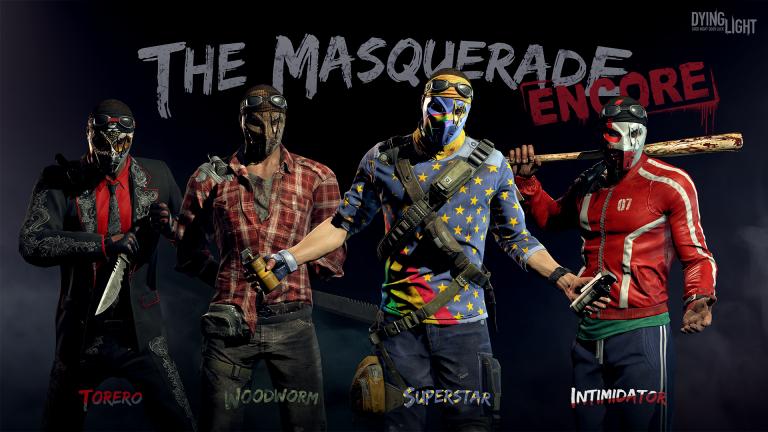 4 nouveaux skins masqués sont désormais disponibles dans le jeu