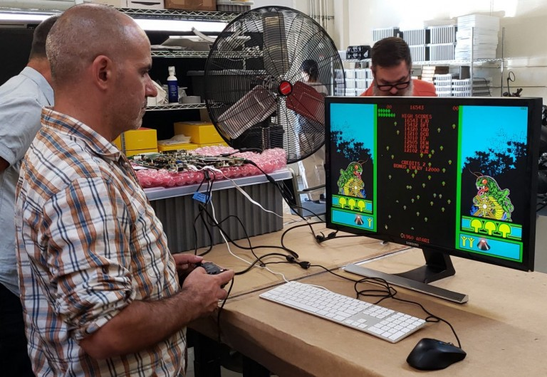 "Des classiques comme ""Atari Vault : Centipede"" côtoieront les titres modernes"