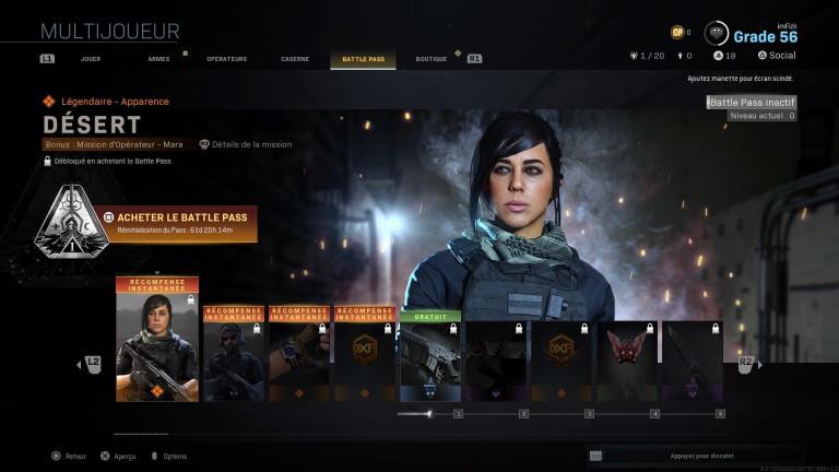 Call of Duty - Modern Warfare, saison 1 : battle pass, défis, nouvelles armes… tout ce qu'il faut savoir