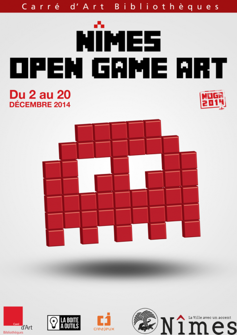 Nîmes Open Game Art : Jeux vidéo et art numérique