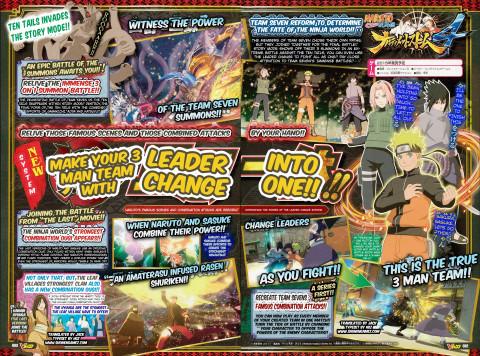 Naruto Shippuden Ultimate Ninja Storm 4 : Le tag team annoncé !