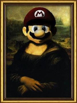 Joconde Super Mario