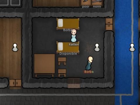 Prisonnier Rimworld