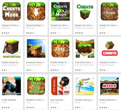 Minecraft : Fausses applications, vraies arnaques