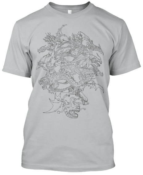 Dragons and Titans lance son tee-shirt