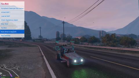 Grand Theft Auto 5 - TransmetTrainer : Un mod made in jeuxvideo.com !