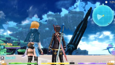 Sword Art Online : Hollow Fragment sur Vita