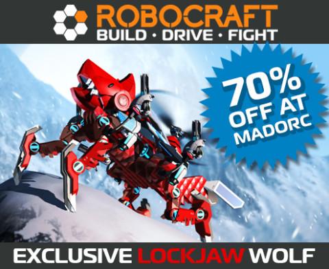 Robocraft : Du contenu unique à -70% !