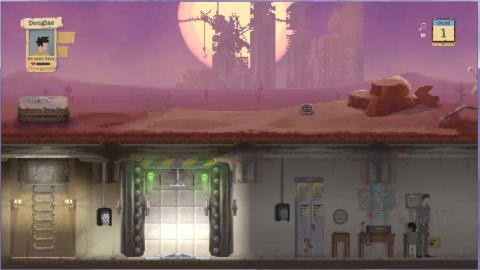 Première approche de Sheltered, jeu de survie en 2D en milieu post-apocalyptique