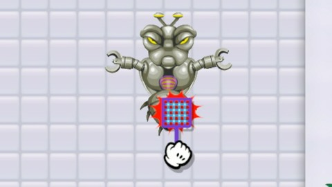 Le mini-jeu de la tapette à mouche