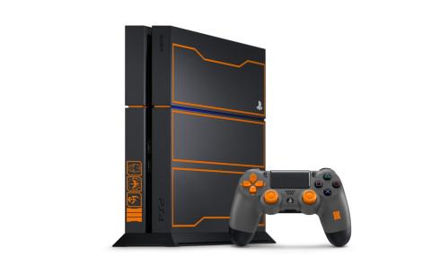 Une PlayStation 4 aux couleurs de Black Ops 3
