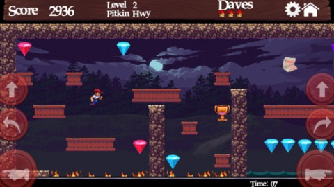 Dangerous Dave in the Deserted Pirate's Hideout est de retour