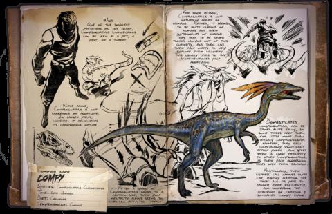 Ark survival evolved et son nouveau dinosaure social le compy actualit s du 23 11 2015 - Liste de dinosaures ...