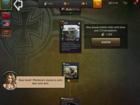 World of Tanks Generals : La stratégie avant l'action