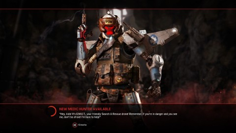Evolve : EMET le robot médical rejoint le casting