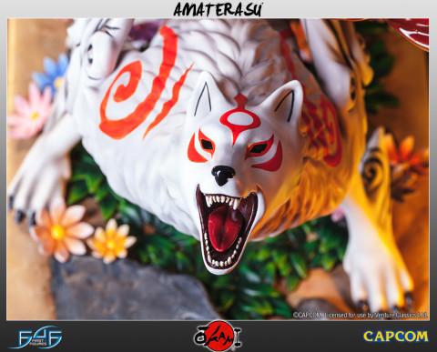 Ōkami: une statuette d'Amaterasu à l'échelle 1:4 pour 2016