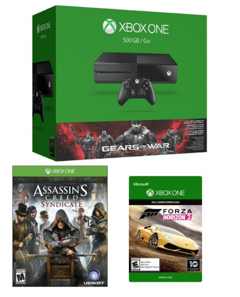 Xbox One : Un bundle Gears of War Ultimate Edition avec Assassin's Creed Syndicate et Forza Horizon 2 disponible dès maintenant