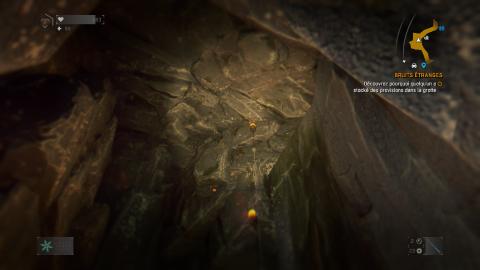 Bruits étranges & Juste une grotte