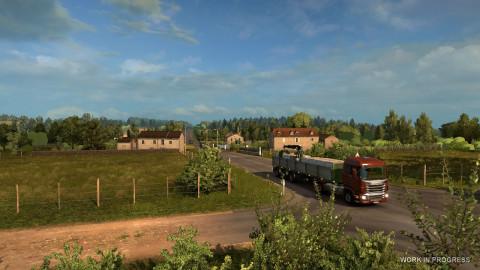 Euro Truck Simulator 2 : La France bientôt modélisée