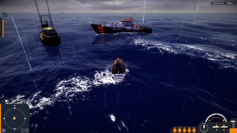 Coast Guard, garde-côte simulator