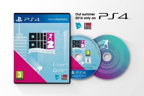 OlliOlli 1 et 2 bientôt en boite sur PlayStation 4