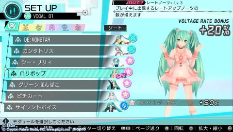Hatsune Miku Project Diva X, l'épisode de transition ?