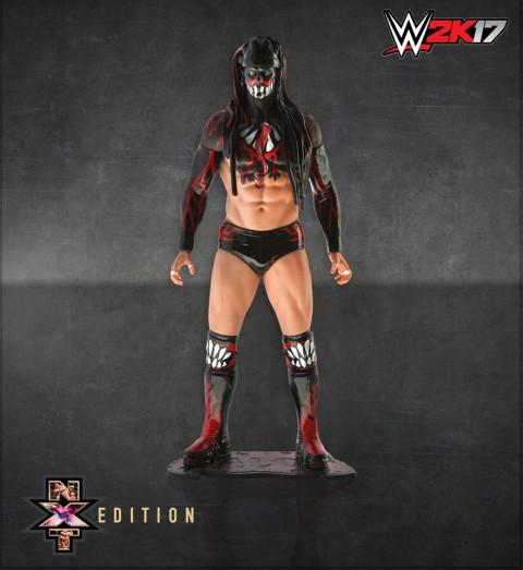 WWE 2K17 : Présentation de l'édition collector NXT