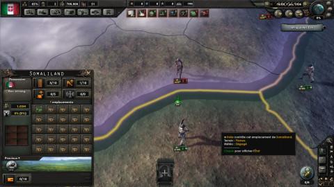 Les troupes du Duce sous le feu des terribles troupes éthiopiennes !