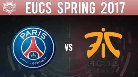 EUCS Spring 2017 PSG VS Fnatic Academy