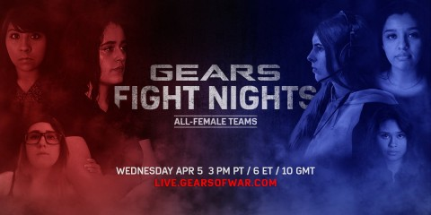 Gears Fight Nights - 5 Avril