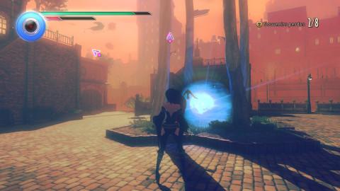 Gravity Rush 2 - The Ark of Time : Raven's Choice, la tête à l'envers