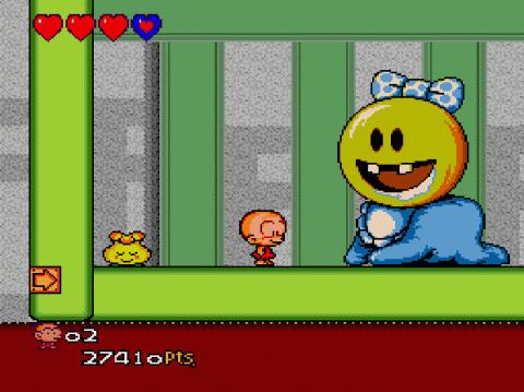 Oldies : PC Kid 3 (Bonk 3: Bonk's Big Adventure)