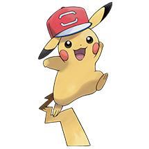 Pokémon Ultra-Soleil & Ultra-Lune : récupérez gratuitement les 5 Pikachu de Sacha à casquette pour une durée limitée