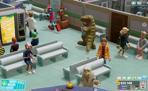 Two Point Hospital : Bigfoot - Un humour toujours aussi givré