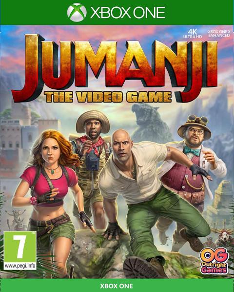 Une jaquette pour Jumanji : Le jeu vidéo