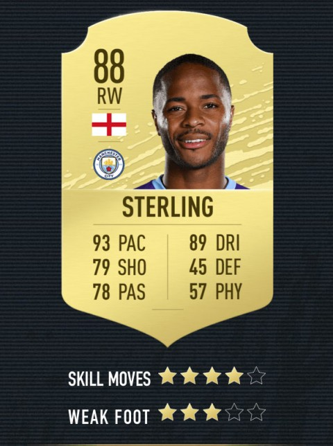 sterling note FIFA 20